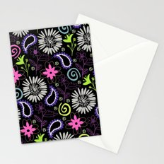 PAISLEY FLORAL Stationery Cards