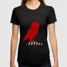 Twin Peaks - Red Room Womens Fitted Tee Tri-Black SMALL