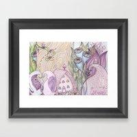 Earth Song Framed Art Print