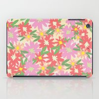 floral party iPad Case