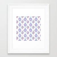Butterflies And Asian Ja… Framed Art Print