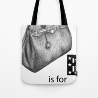 B Is For Birkin Tote Bag