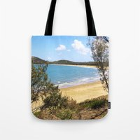 Idyllic tropical beach Tote Bag