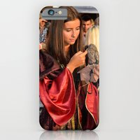 Renaissance Dressed Beauty and the Cute Little Beast iPhone 6 Slim Case