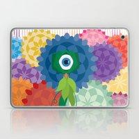 Between The Flowers Laptop & iPad Skin