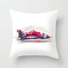 racing car2 Throw Pillow
