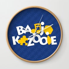 Banjo-Kazooie - Blue Wall Clock