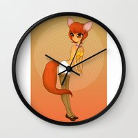 FoxyLoxy Wall Clock