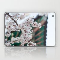 Blossoms Near The Bell, … Laptop & iPad Skin