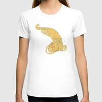 Crouching Tiger Hidden Dragon Womens Fitted Tee White SMALL