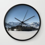 Winter Wonderland I  Wall Clock