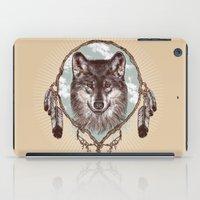 Gray Wolf iPad Case