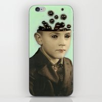 Fur Brains - Hand Painted Vintage Photography iPhone & iPod Skin