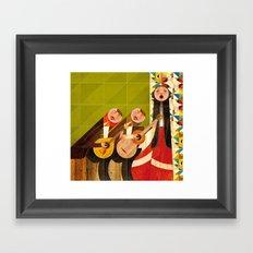 Ai Mouraria Framed Art Print