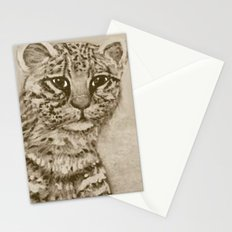 Ocelot Watching, by Ave Hurley Stationery Cards