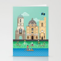 Oxford In Spring Stationery Cards