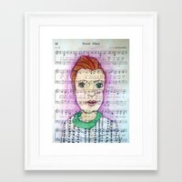 Never Alone Framed Art Print