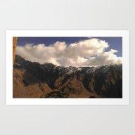 Mount Art Print
