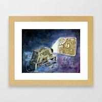 About kraken & movies Framed Art Print