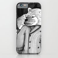 iPhone & iPod Case featuring Panda Noir by Ashley K. Alexander