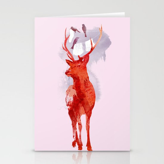 Useless Deer Stationery Card