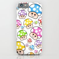 Iddy Diddy Mushrooms  iPhone 6 Slim Case
