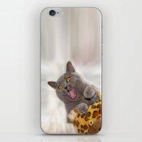 Supersonic Kitty iPhone & iPod Skin