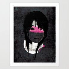 Pink Phone Art Print
