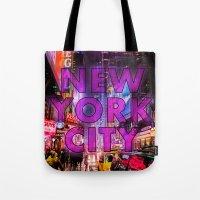 New York City - Color Tote Bag
