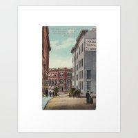 Olde Albany Art Print