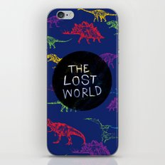 THE LOST WORLD iPhone & iPod Skin