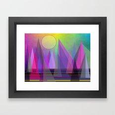 Abstract Elevation Framed Art Print