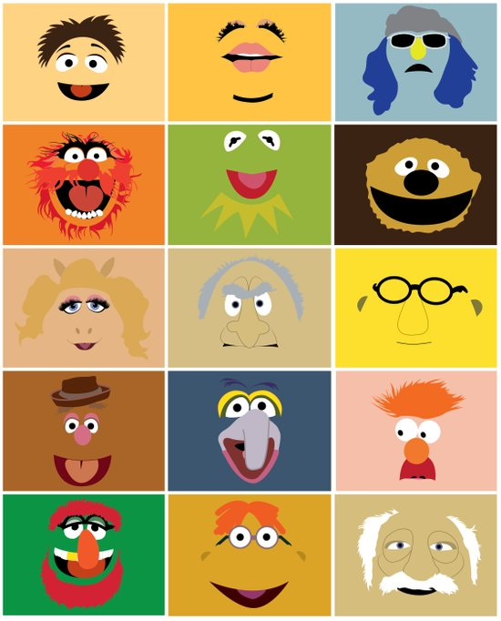 We Are the Muppets Art Print
