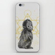 sketchy monkey iPhone & iPod Skin