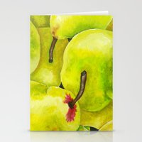 Fresh Pears Stationery Cards