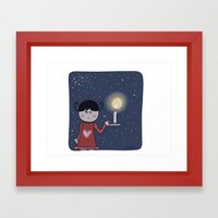 In The Night Framed Art Print