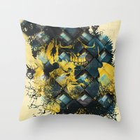 Abstract Thinking Remix Throw Pillow