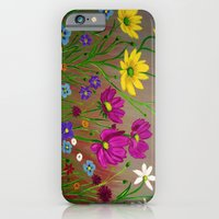 Spring Wild flowers  iPhone 6 Slim Case