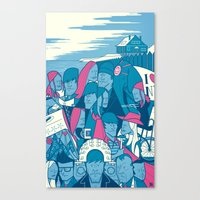 Eternal Sunshine Of The … Canvas Print