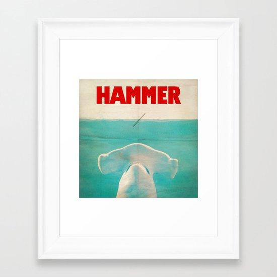 Hammer (square format) Framed Art Print