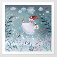 Once Upon A Chilly After… Art Print