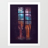 Let The Stars Flow Into … Art Print