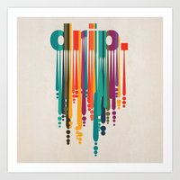 drip v2 Art Print