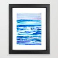 Pacific Dreams Framed Art Print