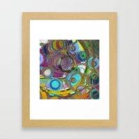 Circoli Framed Art Print