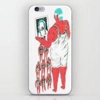 Rebound Girls iPhone & iPod Skin