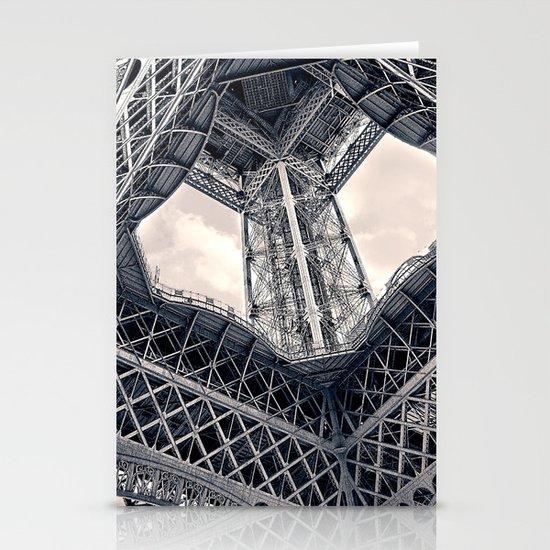 Eiffel Steel Stationery Card