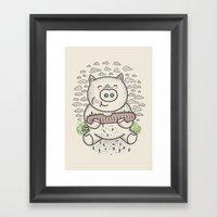 Bacon's Sandwich Framed Art Print