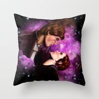 Star Wars, Han & Leia The Empire Strikes Back Throw Pillow
