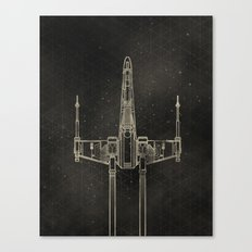 X-Wing Fighter Canvas Print